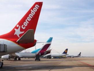 Corendon, Eurowings, Lufthansa, Ryanair