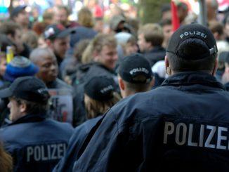 Symbolbild: Polizei im Einsatz