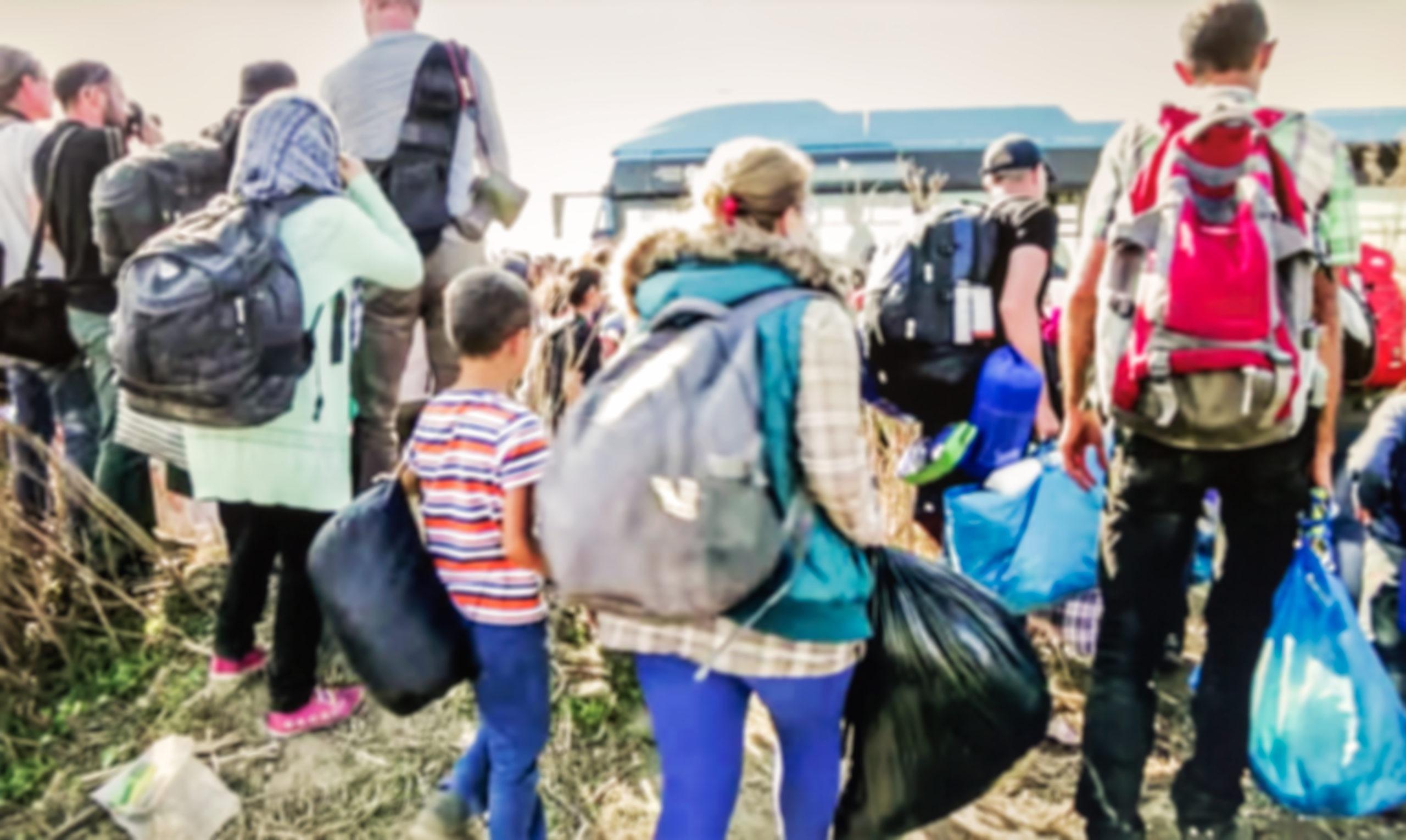 Flüchtlinge Ebola