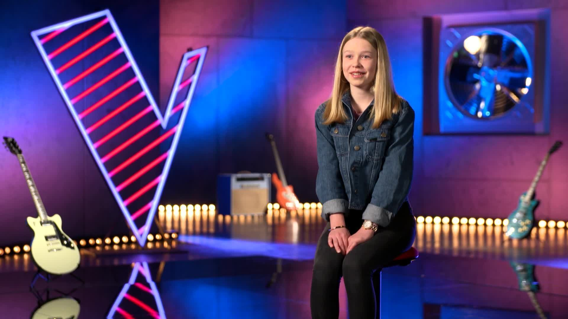 the voice kids_lisa marie_blind auditions