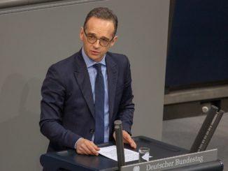 Heiko Maas im Bundestag - Bild: Olaf Kosinsky / CC BY-SA 3.0 DE