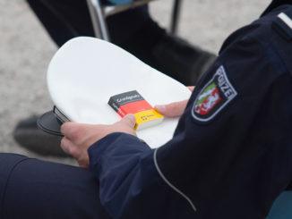 Symbolbild: Polizeianwärter - Bild: Innenministerium NRW/ Caroline Seidel