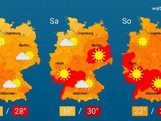 Der Wetterbericht beim Nürnberger Blatt wird präsentiert von WetterOnline