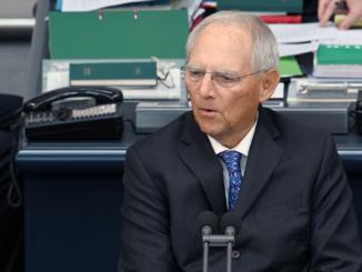 Bundestagspräsident Dr. Wolfgang Schäuble - Bild: Achim Melde/Bundestag