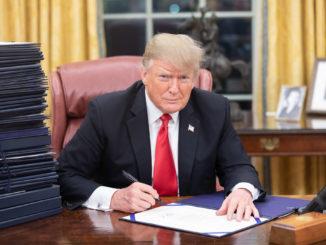 Donald Trump - Bild: Shealah Craighead/White House