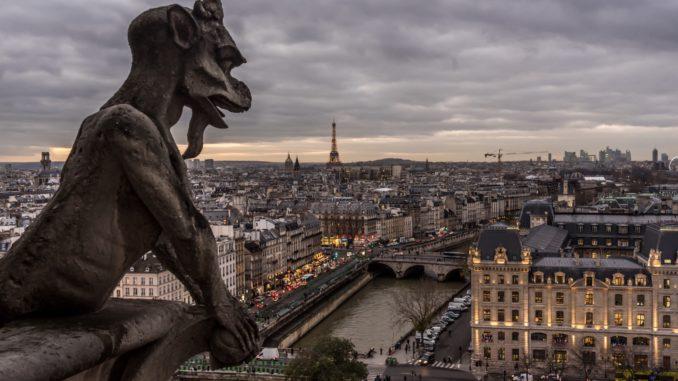 Parigi da Notre Dame, Francia - Foto: javan via Twenty20