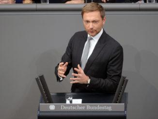 Christian Lindner - Bild: Achim Melde/Bundestag