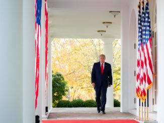 Donald Trump - Bild: Tia Dufour/Weißes Haus