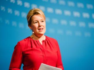 Franziska Giffey - Bild: SPD Berlin