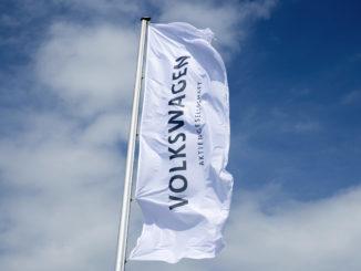 Volkswagen-Flagge - Bild: Volkswagen Group