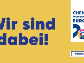 Banner der Kulturhauptstadt Chemnitz 2025 - Bild: Stadt Chemnitz