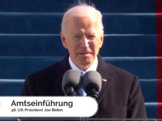 Amtseinführung Joe Biden - Bild: FLASH TV