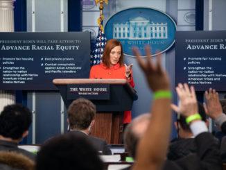 Jen Psaki - Bild: White House/Chandler West
