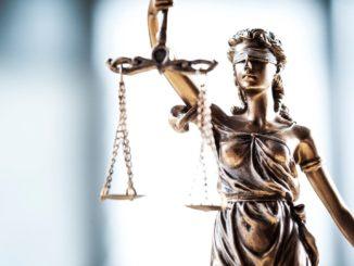 Die Justitia - ein Symbol der Rechtsstaatlichkeit