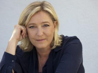 Marine Le Pen - Bild: Gilbert-Noël Sfeir Mont-Liban